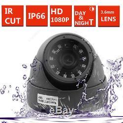 4ch Cctv Dvr Enregistrement 2.4mp 1080p Caméra Ir-cut Kit De Sécurité Domestique 4 Caméra