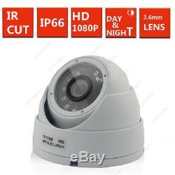 4ch Cctv Dvr Enregistrement 2.4mp De Kamera Système Ir-cut Heim Sicherheits Set 4