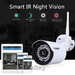 4ch Cctv Sans Fil 1080p Dvr Hdmi 4x 720p Caméra Ip Kit Video Recorder Système Nvr