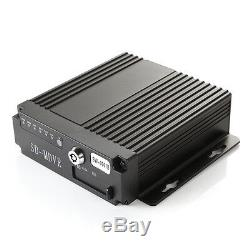 4ch Mobile Auto Dvr Wifi 3g Gps + 4 Cctv Kamera + Kabel + 7 Bildschirm