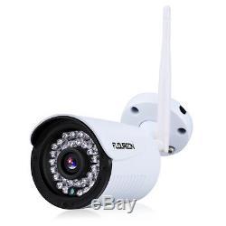 4ch Wireless 1080p Dvr Cctv Caméra Wifi Enregistreur De Sécurité Vidéo Nvr Kit Système