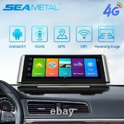 4g Android 8.1 Enregistreur Vidéo Dash & Rear Cam Gps Navigation Adas Dvr 1080p Lot