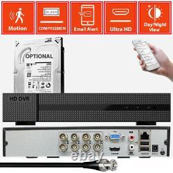 5in1 4ch 8ch Dvr 16ch Enregistreur Vidéo Numérique Cctv Caméra De Surveillance Système Tvi