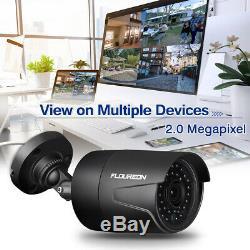7 Système De Caméra De Sécurité Pour La Surveillance À Domicile Par Enregistrement Cctv Ir De 4ch 1080n Dvr
