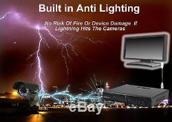 8 Canaux 1080p Hdmi P2p 5 In1 Cctv Dvr Nvr Système De Sécurité Enregistreur Vidéo Uk