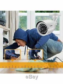 8 Sécurité Camaras Hd Vidéo 1080n De Seguridad Pour La Maison 8ch + Enregistreur Dvr Cctv