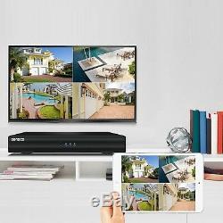 8ch 1080n 5in1 Hdmi Réseau Cctv Dvr Enregistreur Vidéo Home Security Système + 1 To Hdd
