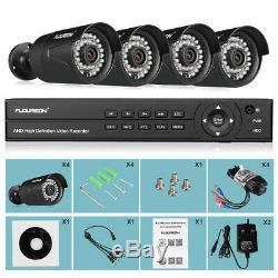 8ch 1080n Ahd Dvr Enregistreur 4x 3000tvl 2.0mp 1080p Kit De Sécurité Caméra Ip Extérieure