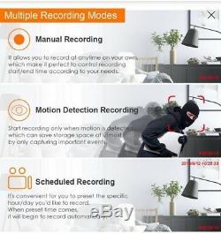 8ch 1080p Haute Définition Hybride 4-en-1 Hd Dvr Tvi Enregistreur Vidéo Cctv