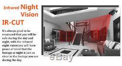 8ch 1080p Hikvision Hiwatch Enregistreur Cctv De 2.4mp Kit Système Sony Caméra Bullet