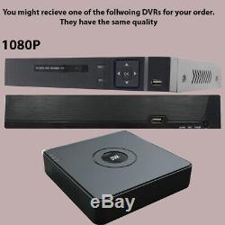 8ch 4ch 5in1 1080p Hdmi H. 264 Dvr Enregistreur Vidéo Caméra Cctv Système De Sécurité