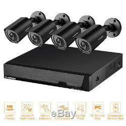 8ch Ahd Dvr Enregistreur 1080p Cctv Caméra De Surveillance Extérieure Système De Sécurité