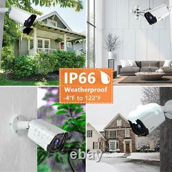 8ch Dvr Recorder Cctv Außen Vidéo Überwachungskamera System Mit 4x1080p Cameras
