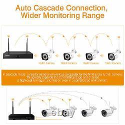 8ch Wireless Cctv Security System 1080p Dvr Nvr Enregistreur 1080p Ir Ip66 Ip Camera