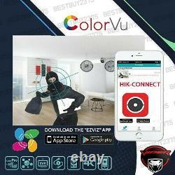 8mp Colorvu Cctv Système De Sécurité 8ch 4ch Uhd Kit 4k Viper Pro Tvi CVI Ahd Caméra