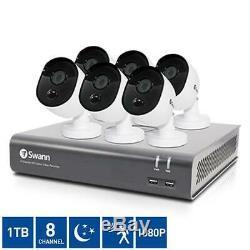 Accueil Caméras Cctv 8 Canaux 1080p Enregistreur Vidéo Numérique Avec 6-x 1080p Caméras