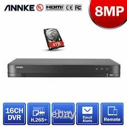 Annke 16ch Channel 4k Video 8mp H. 265+dvr Digital Video Recorder Accès À Distance