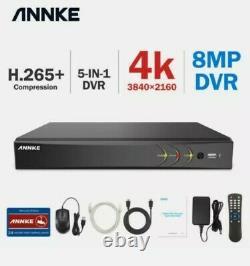 Annke 8ch Enregistreur Vidéo Numérique 4k Video 8mp Dvr Pour Le Système De Sécurité Remote Uk