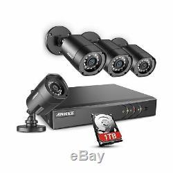 Annke 8ch Sécurité Système De Caméra Hd-tvi H. 264+ Surveillance Enregistreur Dvr Avec