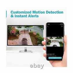Annke 8ch Système De Caméra De Sécurité Hd-tvi H. 264+ Surveillance Dvr Recorder Avec
