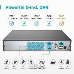 Annke Caméra Cctv Systems 1080p Lite 8 + 2 Canaux Dvr Avec 4x Hd 1080p Extérieure B