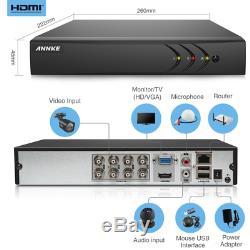 Annke Cctv Caannke Systèmes De Caméra Cctv Enregistreur Dvr Hd 1080p Lite 8 + 2ch Avec 4x 72