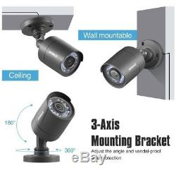 Annke Système Cctv 8 + 2 Canaux Dvr Ip 1080p Caméra Royaume-uni