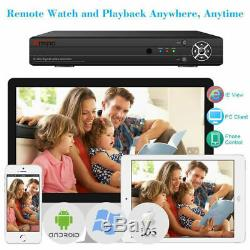 Anspo Premium 5mp 4/8/16 Canaux Enregistreur Cctv Dvr Full Hd 1080p Hdmi Vga Bnc Ru