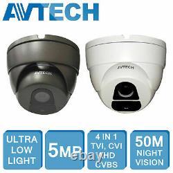 Avtech 5mp Hd Dvr Xvr 4ch 8ch 16ch Cctv Enregistreur De Sécurité De Hdmi CVI Tvi Ahd