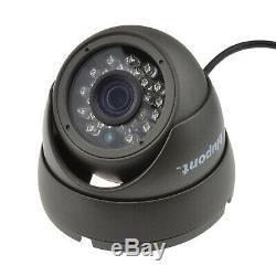 Blupont 1tb Full Hd 1080p 4 Ch Canal Dvr Cctv Enregistreur + 4x Système Caméras Hd Au Royaume-uni