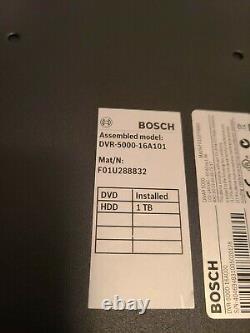 Bosch Divar Dvr-5000-16a101 16ch 1 To Hdd Digital Video Recorder Cctv Dvr
