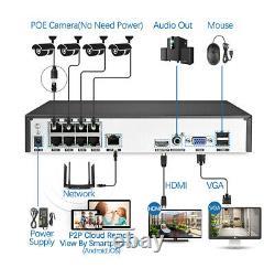 Caméra Cctv 8ch 1080 Sécurité Système D'alarme 2way Audio Digital Video Recorder