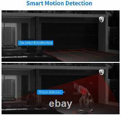 Caméra Cctv Kit Système Full Hd 4ch Dvr Enregistreur Extérieur 2mp Maison Avec Disque Dur