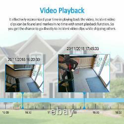 Caméras Cctv Full 1080p Hd 4ch Dvr Recorder 3000tvl Home Security System Ir Cut