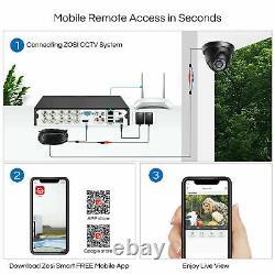 Caméras Vidéosurveillance Zosi Full Hd 1080p 4ch Dvr Recorder 3000tvl Home Security System Ir