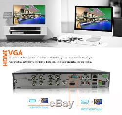 Cctv 16ch 8ch Dvr 4ch Full Hd 1080p 3mp 4mp P2p À Distance Voir Système De Sécurité