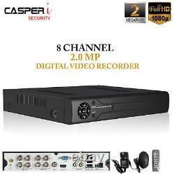 Cctv 2.0mp Dvr 8ch Canal Ahd 1080n Enregistreur Vidéo Numérique Hd 720p Vga Hdmi Bnc