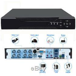 Cctv 4/8/16/32 Ch 1080p Hdmi Dvr 2.0mp Hd Enregistreur Vidéo Numérique H. 264 En Temps Réel