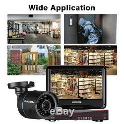 Cctv 4ch 1080n 10 Écran Dvr Enregistreur 1080p 2mp Extérieur Système De Caméra De Sécurité