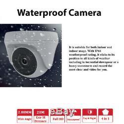 Cctv 4ch 8ch Full Hd 1080p Dvr 2mp Caméras De Sécurité Système Extérieur Kit