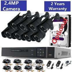 Cctv 4ch Dvr 8ch 1080p Enregistreur 2.4mp In / Système De Caméra De Sécurité Extérieure Kit Royaume-uni