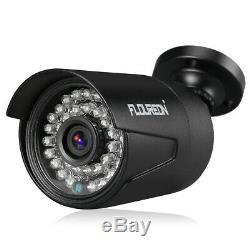 Cctv 8 Ch 1080p Dvr Enregistreur Système De Caméra De Sécurité Extérieure 4x3000tvl + 1 To