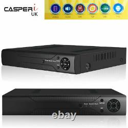 Cctv Casperi De Sécurité Dvr Enregistreur Vidéo Smart 16 Canaux 5mp Full Hd Hdmi H. 265