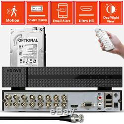 Cctv Full Hd Dvr Enregistrement 1080n Alerte Email P2p Système De Sécurité Domestique Avec Vue À Distance