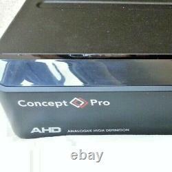 Concept Pro 16 Canaux Ahd Dvr Digital Video Recorder Cctv 6tb Bnc Vxhahd-16