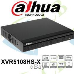 Dahua 8 Canaux Penta-brid 1080p Compact 1u Enregistreur Vidéo Numérique Cctv
