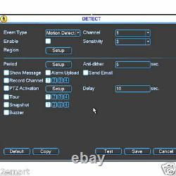 Dahua Hcvr5108h-s3 8ch Hd-dvr CVI Tribrids Support 1080p / 720p Enregistrement