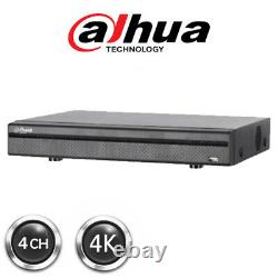 Dahua Xvr 5104hs-4kl-x 4 Canaux Dvr Cctv Enregistreur 4 En 1 Hdcvi/ahd/tvi/cvbs/ip