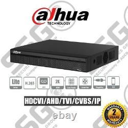 Dahua Xvr 5104hs-4kl-x 4 Channel Dvr Cctv Recorder Hdcvi/ahd/tvi/cvbs/ip