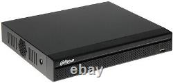 Dahua Xvr 5108hs-4kl-x 8 Channel Dvr Cctv Recorder Surveillance Véritable Anglais